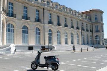 scooter immatriculé à marseille