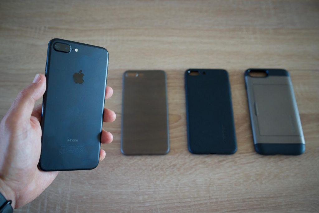 différents choix de coque d'iPhone 6 que j'ai testé